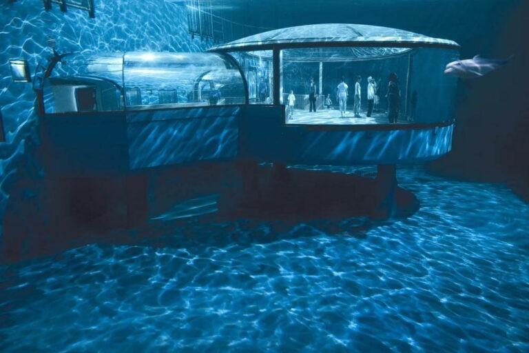 Indianapolis Zoo aquarium